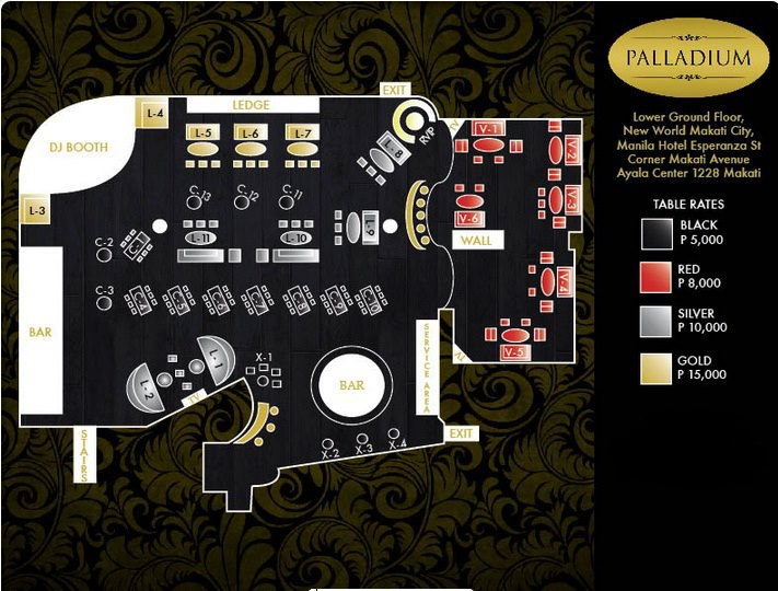 Palladium Club Makati in Manila