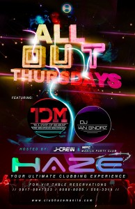 Club Haze All Out Thursdays