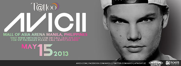 Avicii Manila May 15 2013
