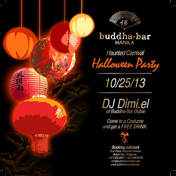 Buddha Bar Manila Halloween Party