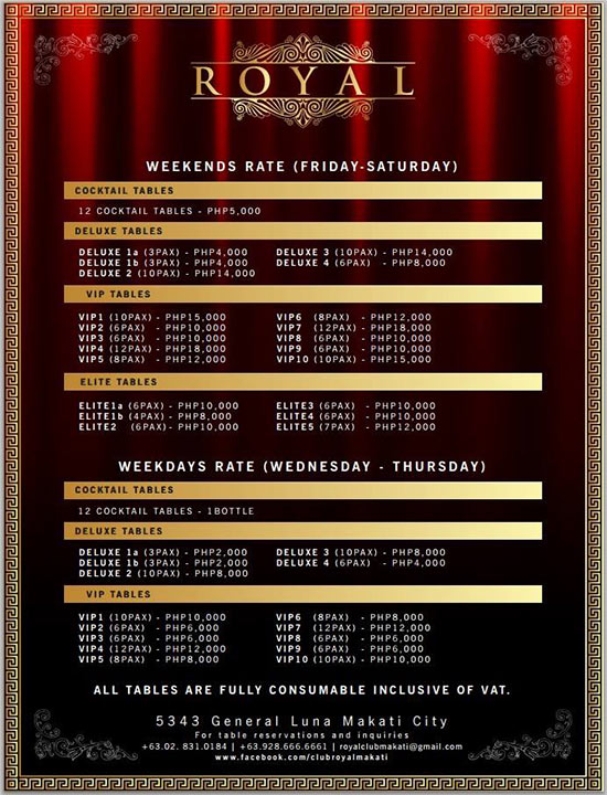 club-royal-manila-table-rates