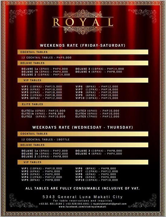 club-royal-manila-table-rates