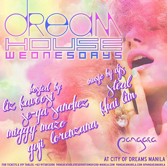 Dream House Wednesdays Pangaea