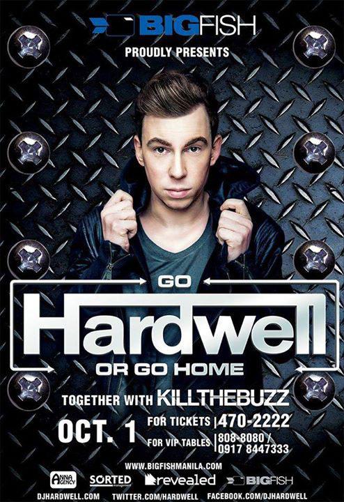 Go Hardwell or Go Home Manila 2014