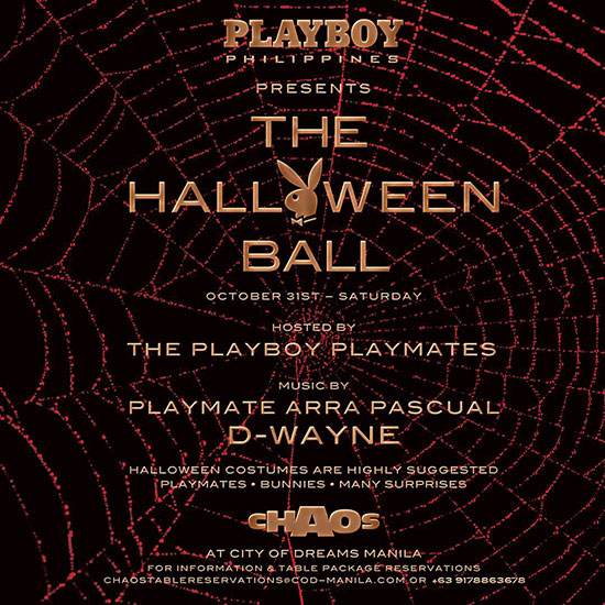 The Halloween Ball at Chaos