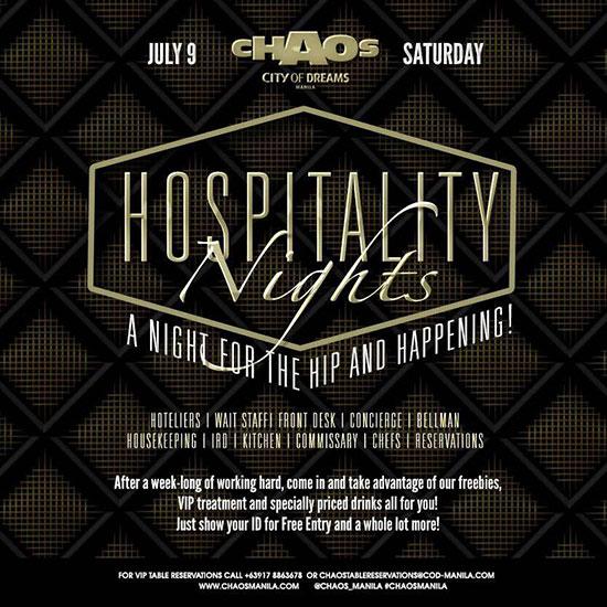 Hospitality Nights Chaos