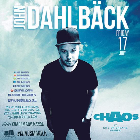 John Dahlback at Chaos