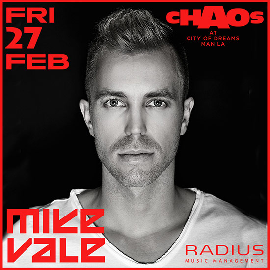 mike vale chaos club city of dreams manila