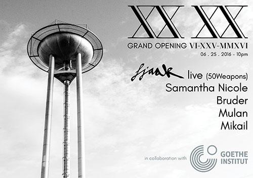 xx xx club grand opening party