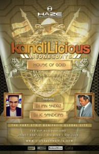 Club Haze Kandilicious Wednesdays