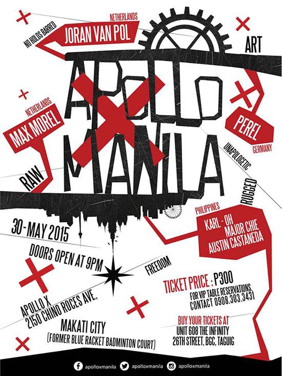 Apollo X Manila