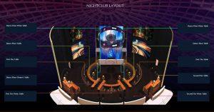 cove manila nightclub vip table layout