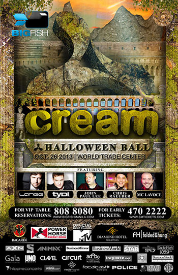 Cream Halloween Ball 2013