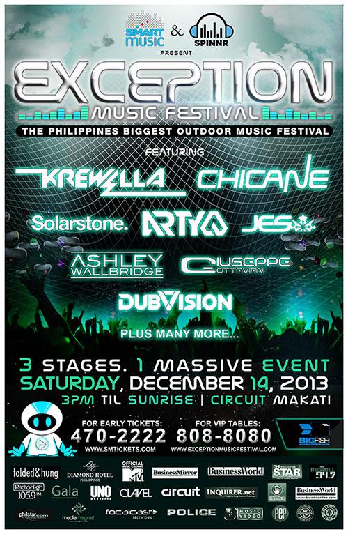Exception Music Festival Manila
