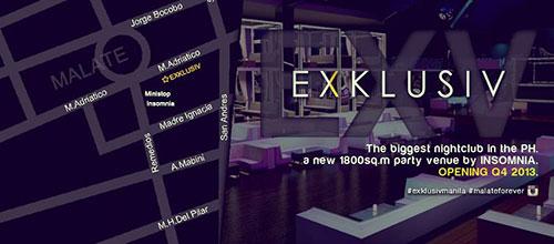 exklusiv nightclub manila