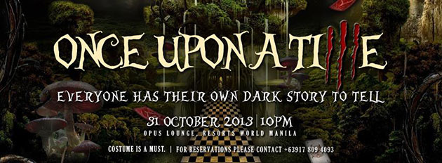 Once Upon a Time halloween party at Opus
