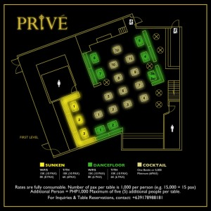 Prive Table Price