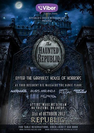 Republiq Haunted Halloween Party