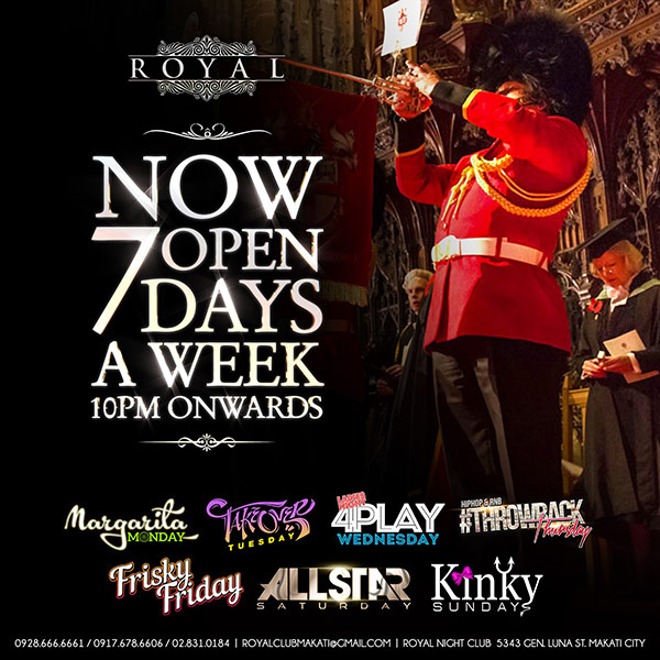 royal 7 days a week