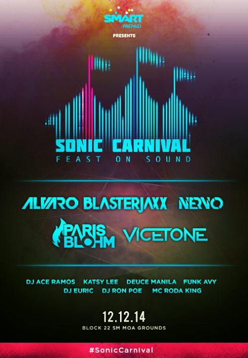 Sonic Carnival 2014 Manila
