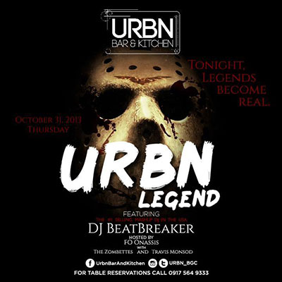 URBN Legend Halloween party